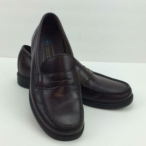 Rockport Genuine Hand Sewn Mens Leather Loafers 12